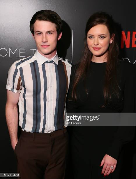 Dylan Minnette and Katherine Langford attend Netflix's '13 Reasons Why' FYC event at Netflix FYSee Space on June 02 2017 in Beverly Hills California