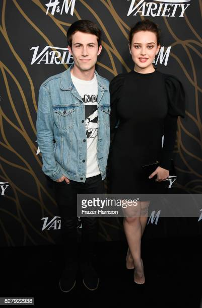 Dylan Minnette and Katherine Langford attend Variety Power of Young Hollywood at TAO Hollywood on August 8 2017 in Los Angeles California