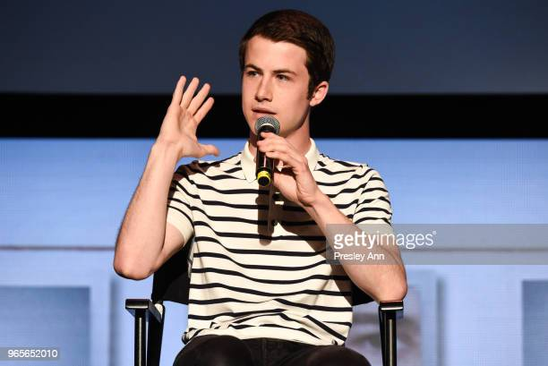 Dylan Minnette attends #NETFLIXFYSEE Event For '13 Reasons Why' Season 2 Inside at Netflix FYSEE At Raleigh Studios on June 1 2018 in Los Angeles...