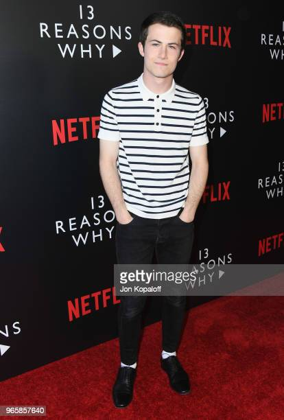 Dylan Minnette attends #NETFLIXFYSEE Event For '13 Reasons Why' Season 2 at Netflix FYSEE At Raleigh Studios on June 1 2018 in Los Angeles California