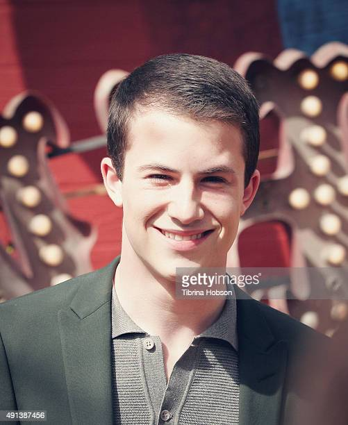 Dylan Minnette attends the premiere of 'Goosebumps' at Regency Village Theatre on October 4 2015 in Westwood California
