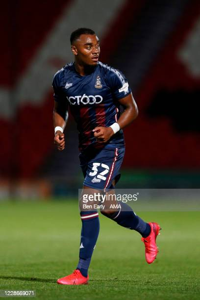 Dylan MottleyHenry of Bradford City during the EFL Trophy match between Doncaster Rovers v Bradford City at Keepmoat Stadium on September 8 2020 in...