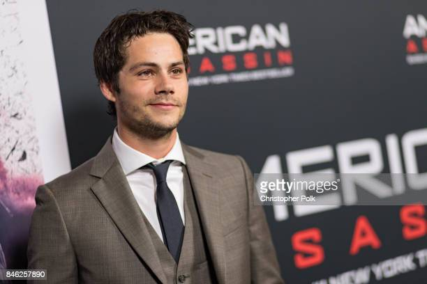 Dylan O'Brien arrives to the screening of CBS Films And Lionsgate's 'American Assassin' at TCL Chinese Theatre on September 12 2017 in Hollywood...