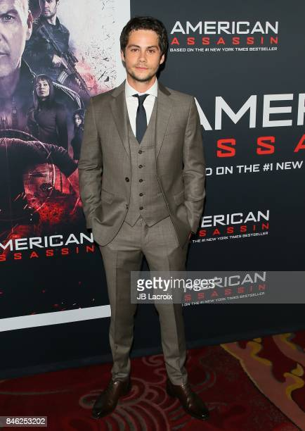 Dylan O'Brien attends a Screening of CBS Films and Lionsgate's 'American Assassin' on September 12 2017 in Hollywood California