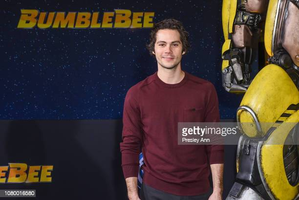 Dylan O'Brien attends Premiere Of Paramount Pictures' Bumblebee at TCL Chinese Theatre on December 09 2018 in Hollywood California
