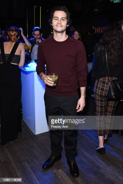 Dylan O'Brien attends Premiere Of Paramount Pictures' Bumblebee on December 09 2018 in Hollywood California