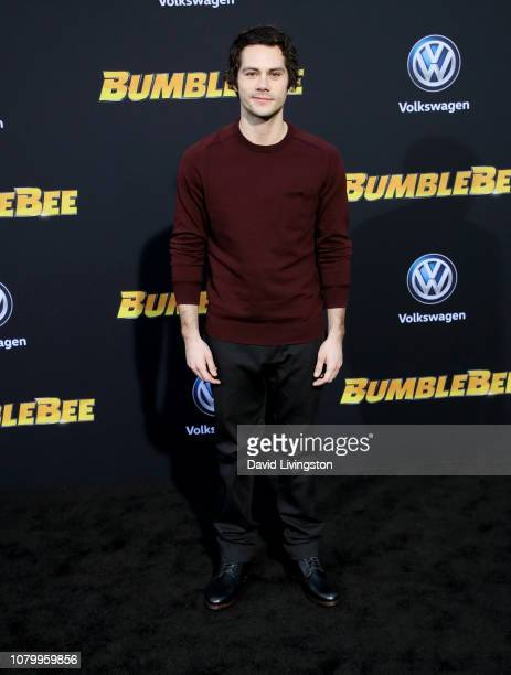Dylan O'Brien attends the premiere of Paramount Pictures' Bumblebee at TCL Chinese Theatre on December 09 2018 in Hollywood California