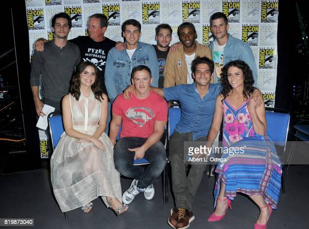 Dylan O'Brien Linden Ashby Cody Christian Dylan Sprayberry Khylin Rhambo Charlie Carver Shelley Hennig executive producer Jeff Davis actors Tyler...