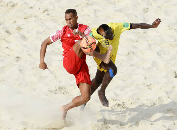 RUS: Tahiti v Mozambique - FIFA Beach Soccer World Cup 2021