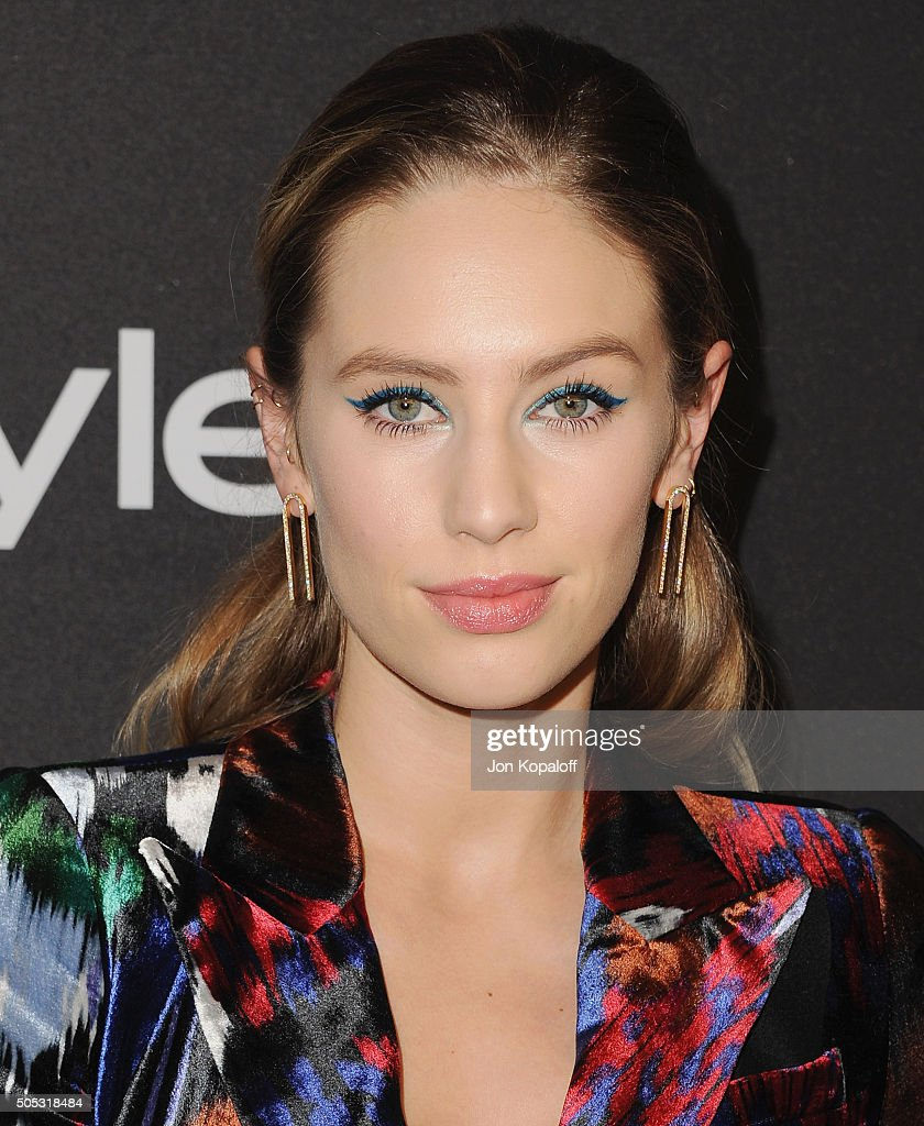 Dylan Penn arrives at the 2016 InStyle And Warner Bros. 73rd Annual Golden Globe Awards Post-Party at The Beverly Hilton Hotel on January 10, 2016 in Beverly Hills, California.