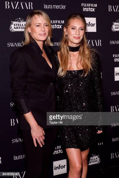 Dylan Penn attends the 2017 Harper ICONS party at The Plaza Hotel on September 8 2017 in New York City
