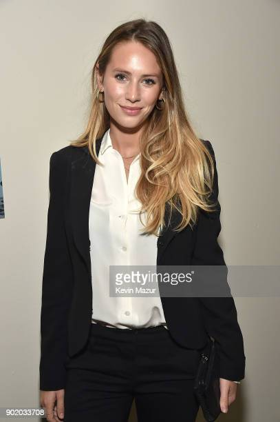 Dylan Penn attends the 7th Annual Sean Penn Friends HAITI RISING Gala benefiting J/P Haitian Relief Organization on January 6 2018 in Hollywood...