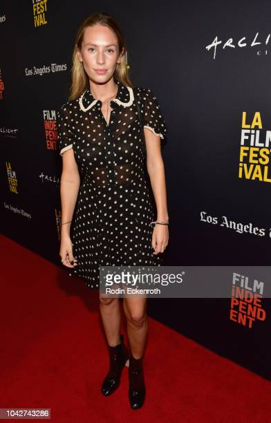 Dylan Penn attends the Closing Night Screening of Nomis during the 2018 LA Film Festival at ArcLight Cinerama Dome on September 28 2018 in Hollywood...