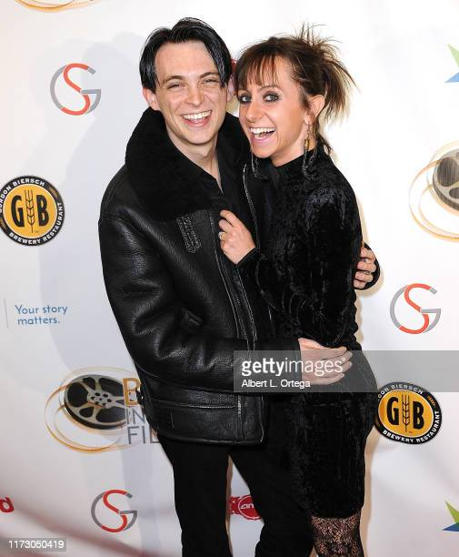 Dylan Riley Snyder and Allisyn Ashley Arm attend the Premiere Of Relish At The Burbank International Film Festival held at AMC Burbank 16 on...