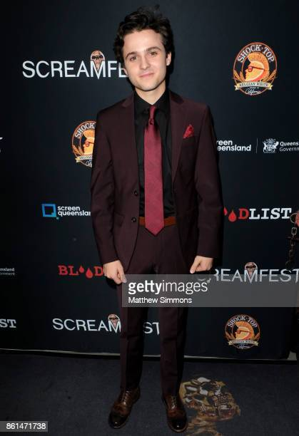 Dylan Schmid attends the premiere of Netflix's '1922' at TCL Chinese 6 Theatres on October 14 2017 in Hollywood California