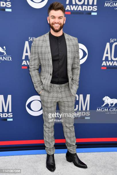 Dylan Scott attends the 54th Academy Of Country Music Awards at MGM Grand Hotel Casino on April 07 2019 in Las Vegas Nevada