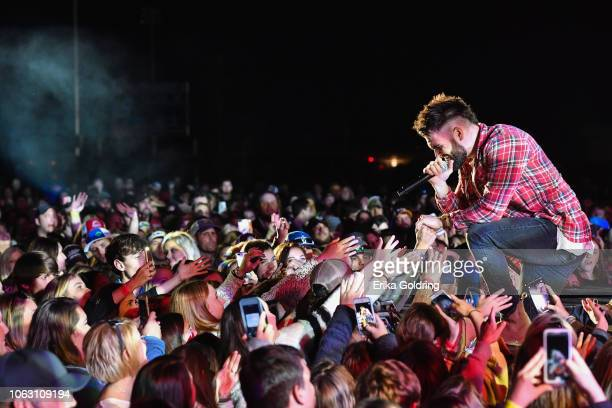 Dylan Scott performs during Bayou Stock at Sterlington Sports Complex on November 17 2018 in Sterlington Louisiana