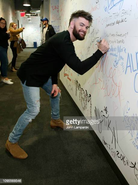Dylan Scott visits Music Choice on January 17 2019 in New York City