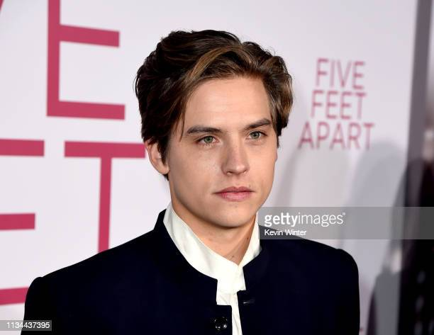 Dylan Sprouse arrives at the premiere of CBS Films' Five Feet Apart at the Fox Bruin Theatre on March 07 2019 in Los Angeles California