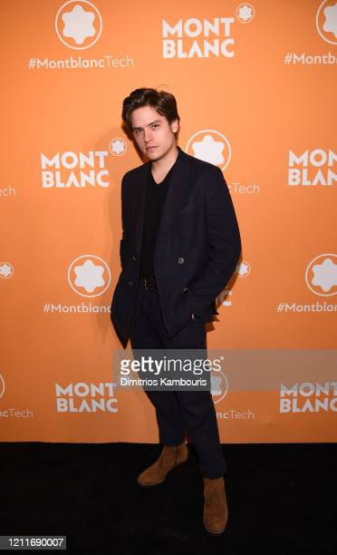 Dylan Sprouse attends as Montblanc celebrates the launch of MB 01 Headphones Summit 2 at World of McIntosh on March 10 2020 in New York City