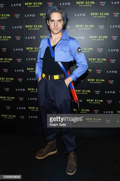 Dylan Sprouse attends Heidi Klum's 19th Annual Halloween Party presented by Party City and SVEDKA Vodka at LAVO New York on October 31 2018 in New...