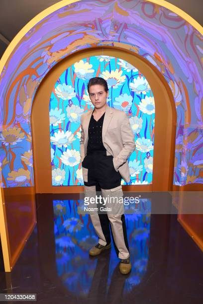 Dylan Sprouse attends The Launch of Solar Dream hosted by Fendi on February 05 2020 in New York City