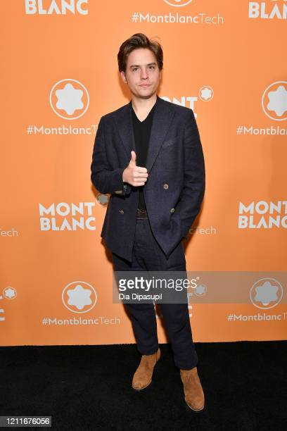Dylan Sprouse attends the Montblanc MB01 Headphones Summit 2 Launch Party at World of McIntosh on March 10 2020 in New York City