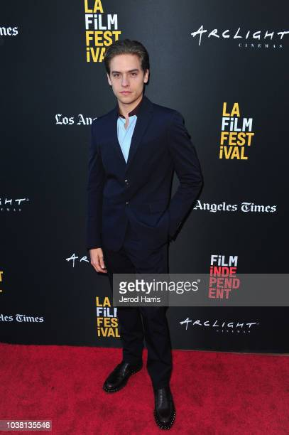 Dylan Sprouse attends the screening of Banana Split during the 2018 LA Film Festival at ArcLight Culver City on September 22 2018 in Culver City...