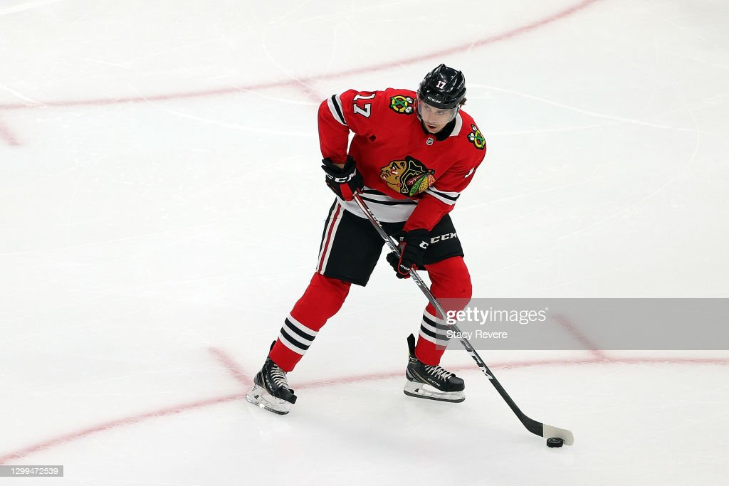 Columbus Blue Jackets v Chicago Blackhawks : News Photo