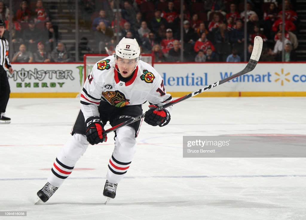 Chicago Blackhawks v New Jersey Devils : News Photo