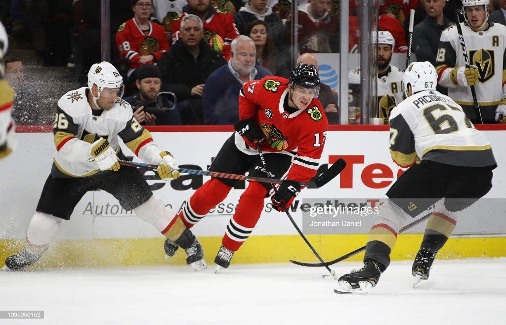 Vegas Golden Knights v Chicago Blackhawks : News Photo