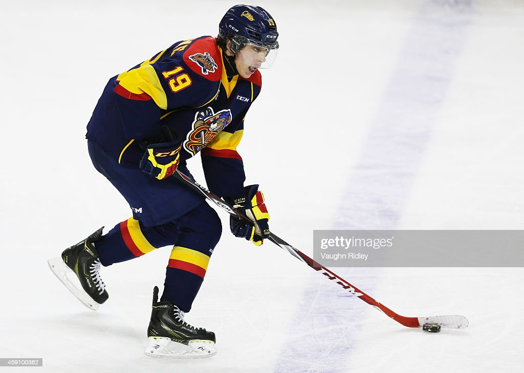 Erie Otters v Niagara IceDogs : News Photo