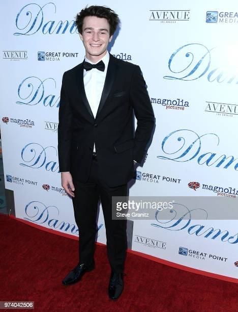 Dylan Summerall arrives at the Magnolia Pictures' 'Damsel' Premiere at ArcLight Hollywood on June 13 2018 in Hollywood California
