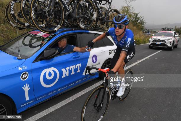 Dylan Sunderland of Australia and NTT Pro Cycling Team / during the 103rd Giro d'Italia 2020, Stage Three a 150km stage from Enna to Etna...