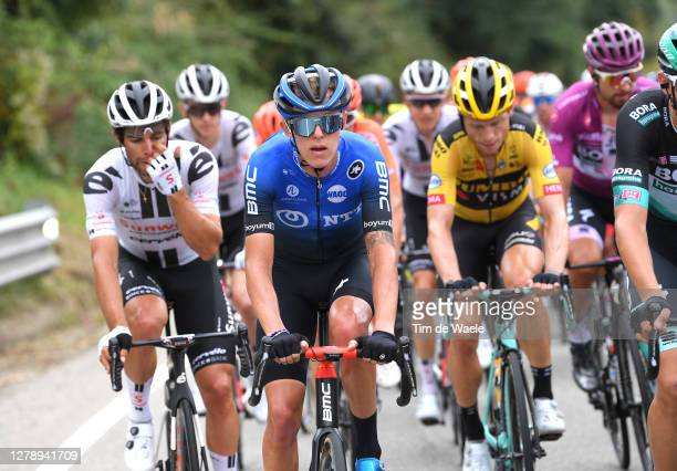 Dylan Sunderland of Australia and NTT Pro Cycling Team / during the 103rd Giro d'Italia 2020, Stage 5 a 225km stage from Mileto to Camigliatello...