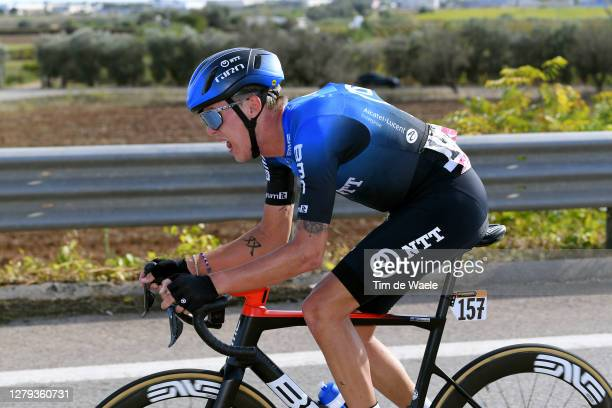 Dylan Sunderland of Australia and NTT Pro Cycling Team / during the 103rd Giro d'Italia 2020, Stage Seven a 143km stage from Matera to Brindisi /...