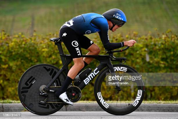 Dylan Sunderland of Australia and NTT Pro Cycling Team / during the 103rd Giro d'Italia 2020, Stage 14 a 34,1km individual Time Trial from Conegliano...