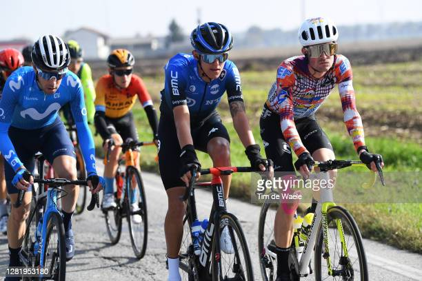 Dylan Sunderland of Australia and NTT Pro Cycling Team / James Whelan of Australia and Team EF Pro Cycling / during the 103rd Giro d'Italia 2020,...