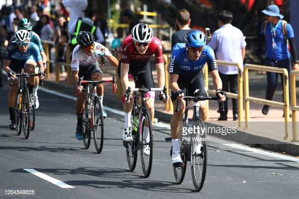 Dylan Sunderland of Australia and Team NTT Pro Cycling / during the 25th Le Tour de Langkawi 2020, Malaysian International Criterium Race a 80km race...