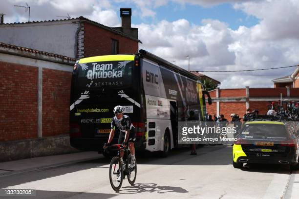 Dylan Sunderland of Australia and Team Qhubeka Nexthash prior to the 43rd Vuelta a Burgos 2021, Stage 2 a 175km stage from Tardajos to Briviesca /...