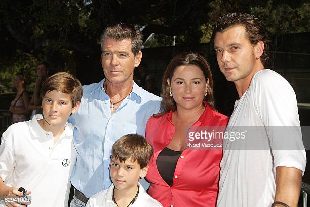 Dylan Thomas Brosnan Pierce Brosnan Paris Beckett Brosnan Keeley Shaye Smith and Gavin Rossdale attend Jane Goodall's 6th Annual Roots Shoots Day of...