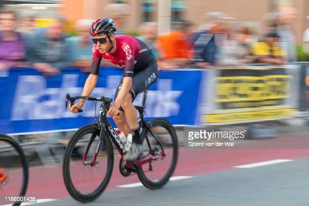Dylan van Baarle of The Netherlands and Team INEOS during the 2019 Spektakel van Steenwijk on August 6, 2019 in Steenwijk,Netherlands. Dylan van...