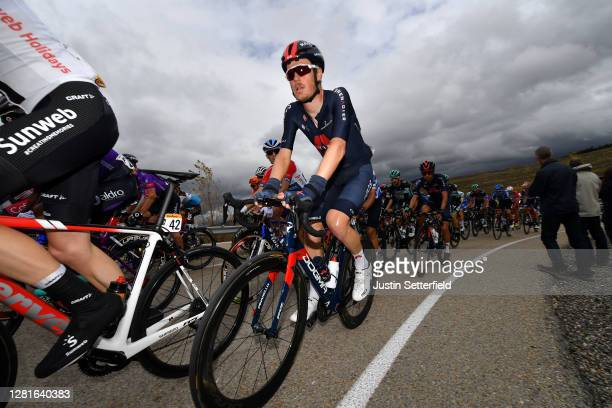 Dylan Van Baarle of The Netherlands and Team INEOS Grenadiers / during the 75th Tour of Spain 2020 Stage 3 a 1661km stage from Lodosa to La Laguna...