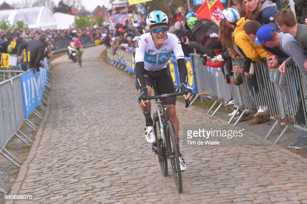 Dylan Van Baarle of The Netherlands and Team Sky / during the 102nd Tour of Flanders 2018 - Ronde Van Vlaanderen a 264,7km race from Antwerpen to...