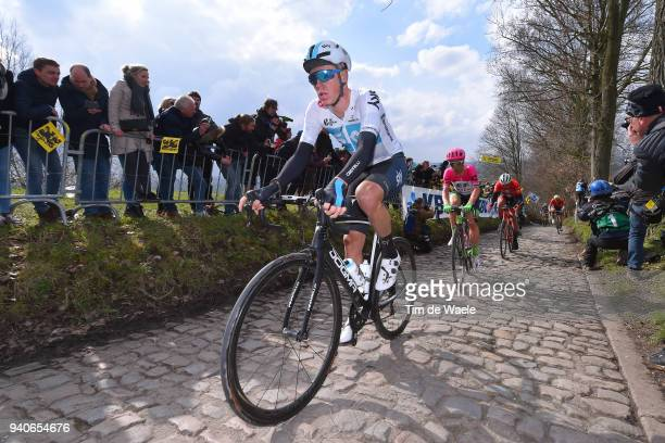 Dylan Van Baarle of The Netherlands and Team Sky / Koppenberg / Cobbles / during the 102nd Tour of Flanders 2018 - Ronde Van Vlaanderen a 264,7km...