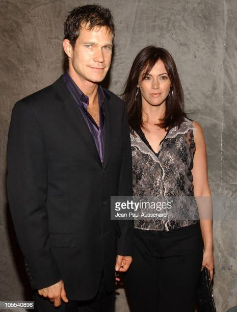 Dylan Walsh and Joanna Going during FX Networks Nip/Tuck 3rd Season Premiere Screening After Party at Geisha House in Hollywood California United...