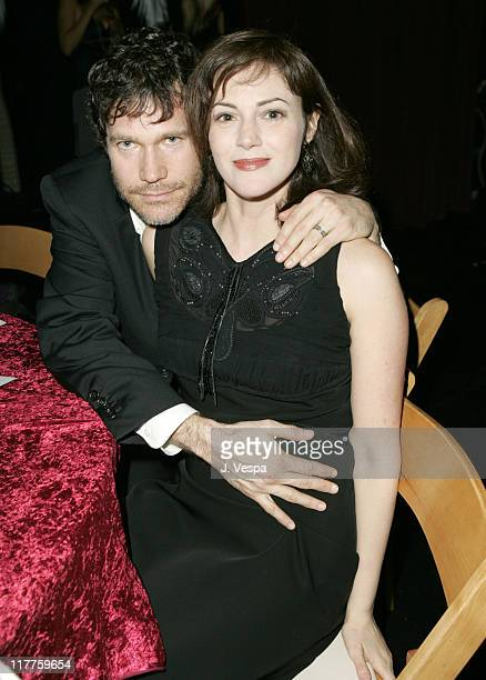 Dylan Walsh and Joanna Going during Hollywood Life's 4th Annual Breakthrough of the Year Awards Audience and Backstage at Henry Ford Music Box...