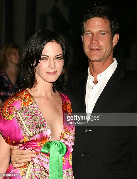 Dylan Walsh and wife Joanna Going during Season Four Premiere Screening Of Nip/Tuck Arrivals at Paramount Studios in Hollywood California United...