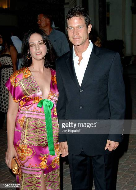 Dylan Walsh and wife Joanna Going during Season Four Premiere Screening Of Nip/Tuck Arrivals at Paramount Studios in Los Angeles California United...