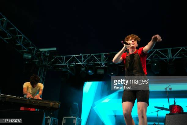 Dylan Walsh of ELM performs on stage during Electric Picnic Music Festival 2019 at on August 31 2019 in Stradbally Ireland